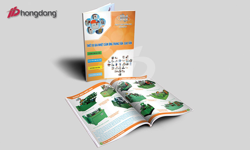 Dịch vụ in catalogue cho công ty